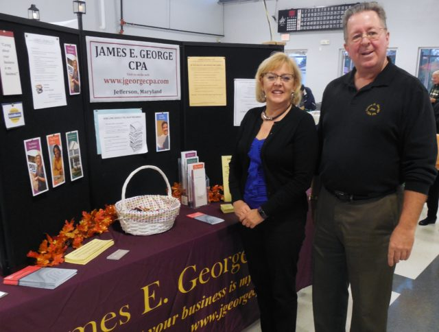Linda and Jim at the GBACC Business Expo